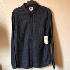 Levi's long sleeve button shirt